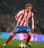 Diego Forlan of Atletico Madrid royalty free stock images