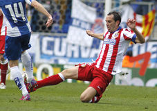 Diego Godin of Atletico Madrid Royalty Free Stock Images