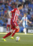 Diego Godin of Atletico Madrid Royalty Free Stock Photography