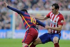 Diego Godin d Atletico Мадрид Стоковое Фото