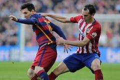 Diego Godin d Atletico Madrid Photographie stock libre de droits