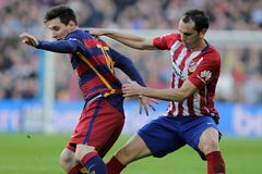 Diego Godin d Atletico Madrid Royalty Free Stock Photography