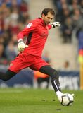 Diego Lopez goalkeeper of Villareal Stock Photography