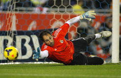 Diego Lopez of Real Madrid Royalty Free Stock Photo