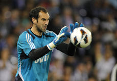 Diego Lopez of Real Madrid Royalty Free Stock Photography