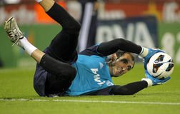 Diego Lopez of Real Madrid Stock Photography