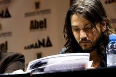 Diego Luna, agente mexicano Imágenes de archivo libres de regalías