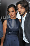 Diego Luna & Alice Braga Royalty Free Stock Photo