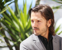Diego Luna atende ao ` do pai do sangue do ` Foto de Stock