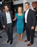 Diego Luna & Jodie Foster & Matt Damon Royalty Free Stock Image
