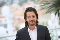 Diego Luna. Jury member Diego Luna attends the Jury Un Certain Regard photocall during the 69th annual Cannes Film Festival at the Palais des Festivals on May 13 Royalty Free Stock Photo
