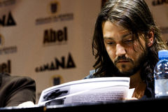 Diego Luna, mexican actor Royalty Free Stock Images