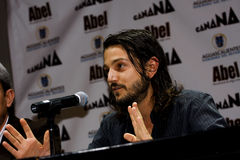 Diego Luna, mexikanischer Schauspieler Stockfoto