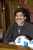 Diego Maradona Royalty Free Stock Photography