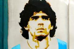 Diego Maradona Fotografía de archivo libre de regalías