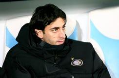 Diego Milito de Milan inter Photo stock