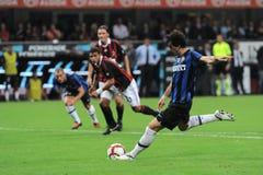 Free Diego Milito Pull The Penalty Kick Stock Photos - 187612653