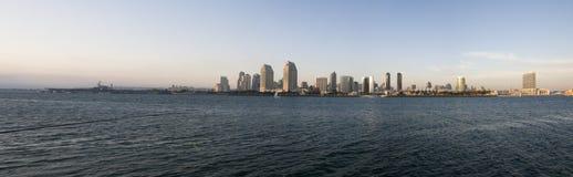 diego panoramasan horisont Arkivfoto