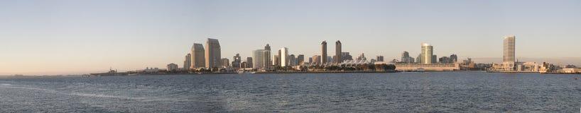 diego panoramasan horisont Arkivbilder