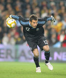 Diego Pozo Argentinian goalkeeper Stock Images
