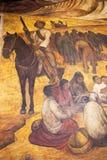 Diego Rivera-Wandgemälde, Unterrichtswesen-Ministerium, Mexiko City lizenzfreie stockfotos