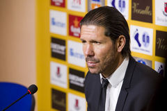 Diego Simeone of Atletico de Madrid royalty free stock image