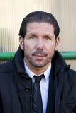 Diego Simeone of Atletico de Madrid Stock Images