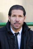 Diego Simeone de Atletico de Madrid Imagenes de archivo