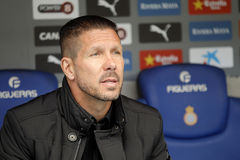 Diego Simeone manager of Atletico Madrid Stock Photography