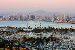 Diego-Skyline lizenzfreies stockbild