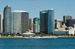 Diego-Skyline lizenzfreie stockfotos