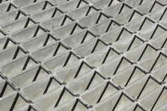 Diehard Spirit of Metal Grate Royalty Free Stock Image
