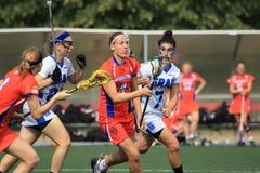 Dieke Spitzen - lacrosse Fotografering för Bildbyråer