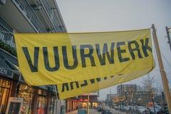Продажи фейерверков флага на Diemen Нидерланд 2018 стоковая фотография