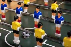 Dien foosball spel in royalty-vrije stock fotografie