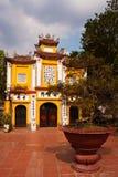 Dien Huu Temple. Dien Huu pagoda in Hanoi, Vietnam Stock Photos
