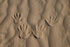 Dien Zand in Royalty-vrije Stock Afbeelding