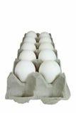 Dienblad van eieren Royalty-vrije Stock Afbeelding