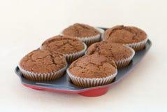 Dienblad van Muffins Royalty-vrije Stock Foto