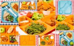 Dienblad van voedsel Royalty-vrije Stock Afbeeldingen