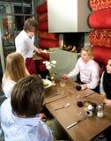Dienend diner Royalty-vrije Stock Foto
