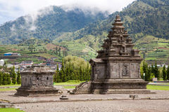 dieng ναός οροπέδιων της Ινδονησίας Στοκ εικόνες με δικαίωμα ελεύθερης χρήσης