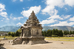 Dieng Plateau temples in Java royalty free stock images