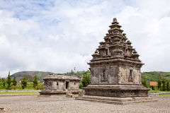 Dieng temple Arjuna complex Indonesia Stock Images