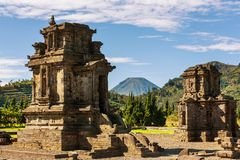 Dieng temple Royalty Free Stock Photography