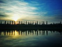 Dienstag-Sonnenaufgang Lizenzfreie Stockbilder