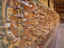 Dienstenaanbod bij Palcho-Klooster, Gyantze, Tibet, China stock afbeelding