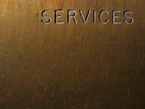 Dienstleistungen Lizenzfreie Stockbilder