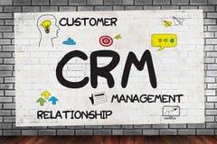 Dienstleistungsunternehmen CRM Kunde CRM-betriebswirtschaftlicher Auswertung lizenzfreie stockfotografie