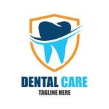 Diente para la odontología/el stomatologist/el logotipo dental de la clínica Fotografía de archivo libre de regalías